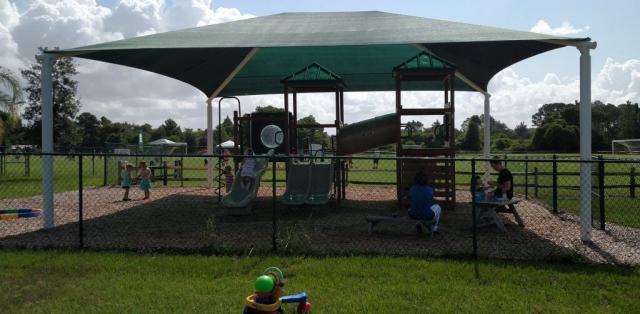 First Baptist Church Windermere playground shade